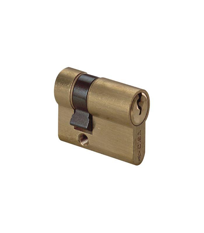 Cilindro cisa art 0g304.02 39,5 mm ottone