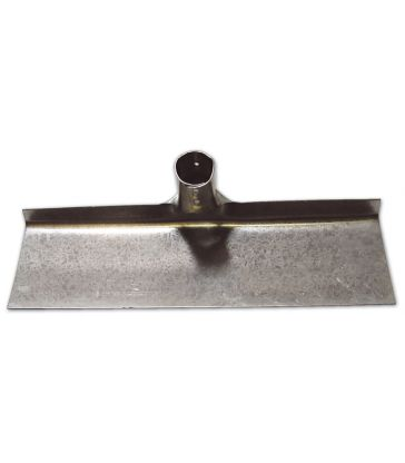 Raschiafango zincato n.1 mm 300 senza manico