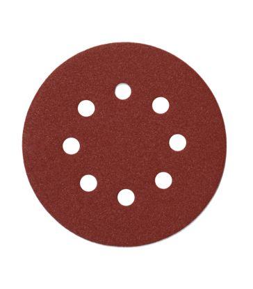 Carta abrasiva levig. disco gr 240 125 mm 25pz. (SAIT)