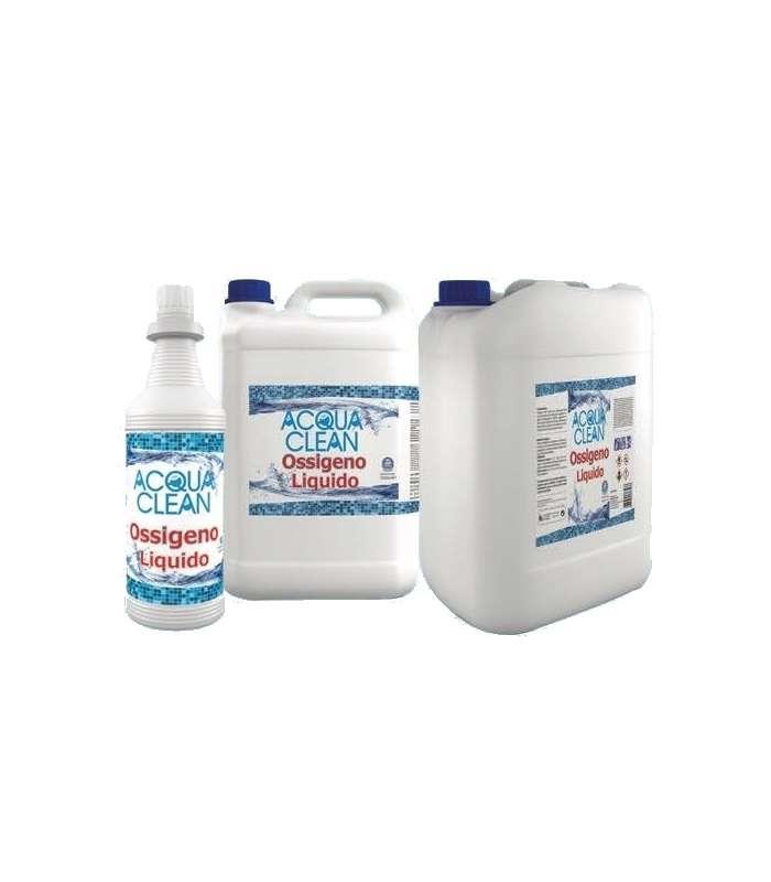 Ossigeno Liquido Acqua Clean - Conf. 1 Lt.