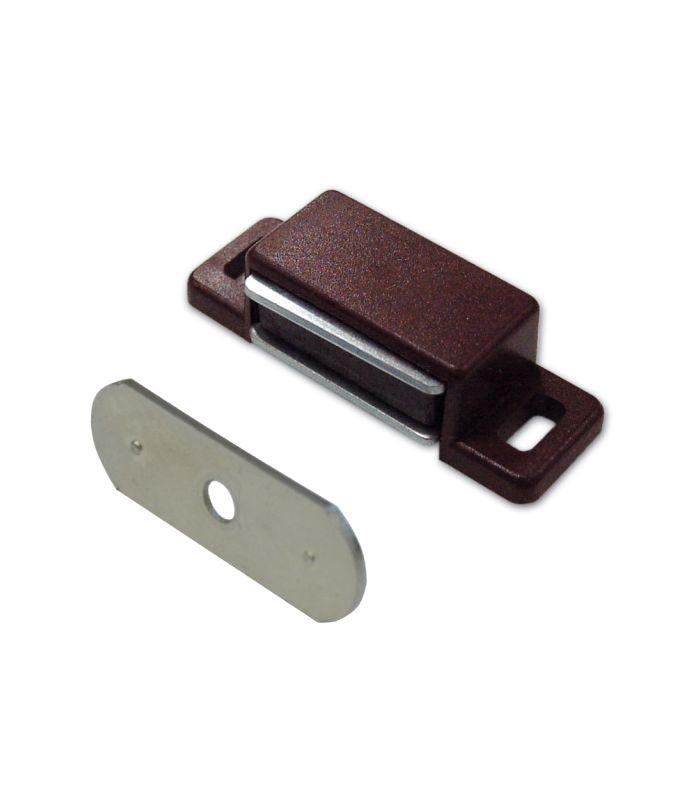 Ferma ante magnetico marrone rettangolari kg.4 - 10 pz